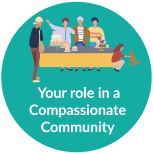 Website bubble_your role in a compassionate community